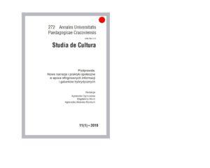 Moje artykuły Agnieszka Jasińska - Studia de Cultura