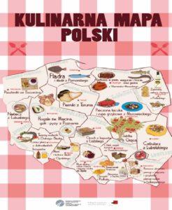Blog Agnieszka Jasińska - Plansza kulinarna mapa Polski