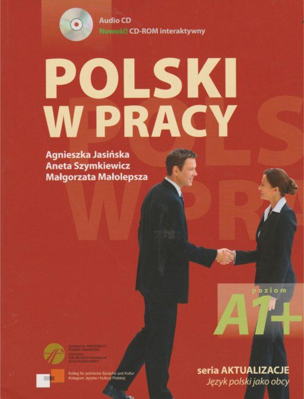 Agnieszka Jasińska - Polski w pracy okładka