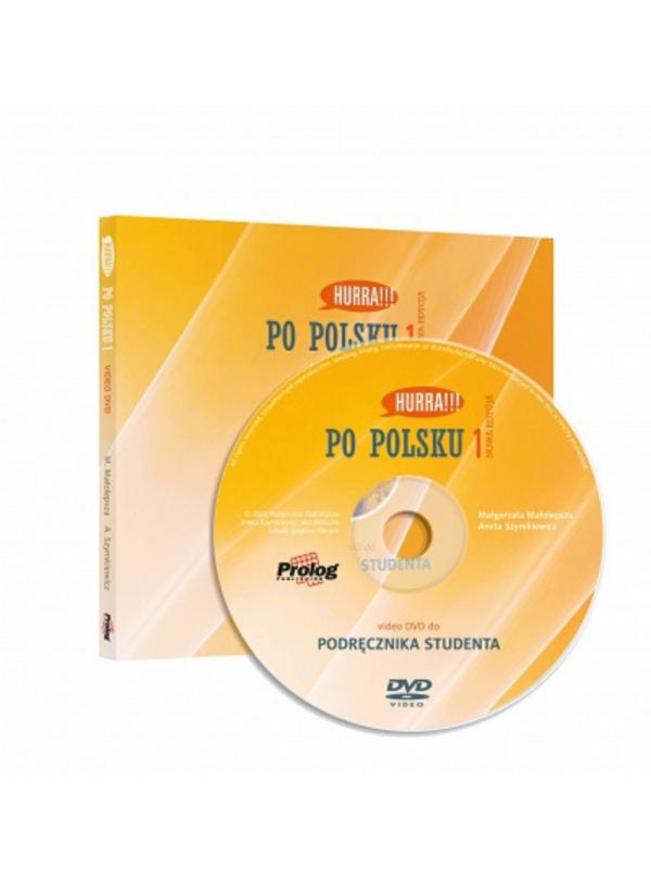 DVD Video do HURRA!!! PO POLSKU 1 Podręcznik studenta. Nowa Edycja