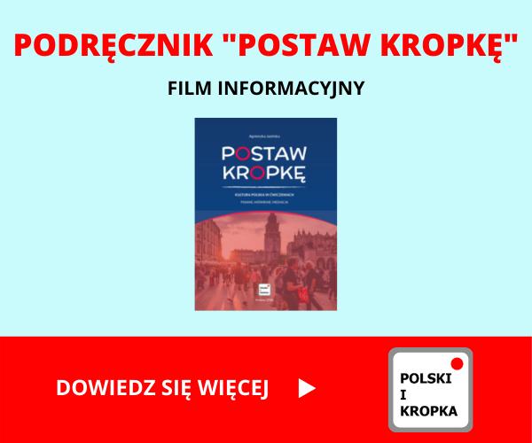 Agnieszka Jasińska - Postaw kropkę baner film