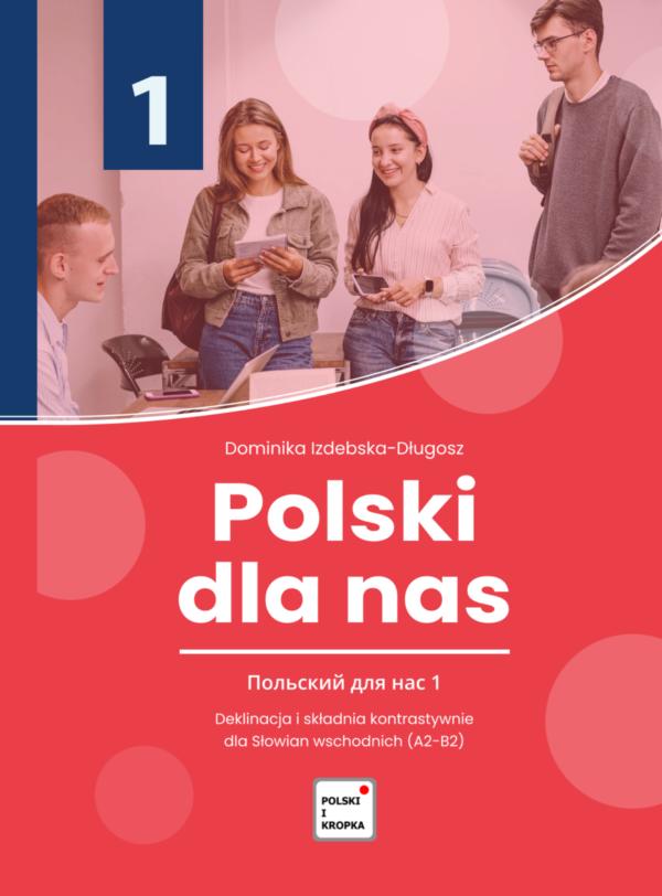Polski dla nas -okładka strona 1