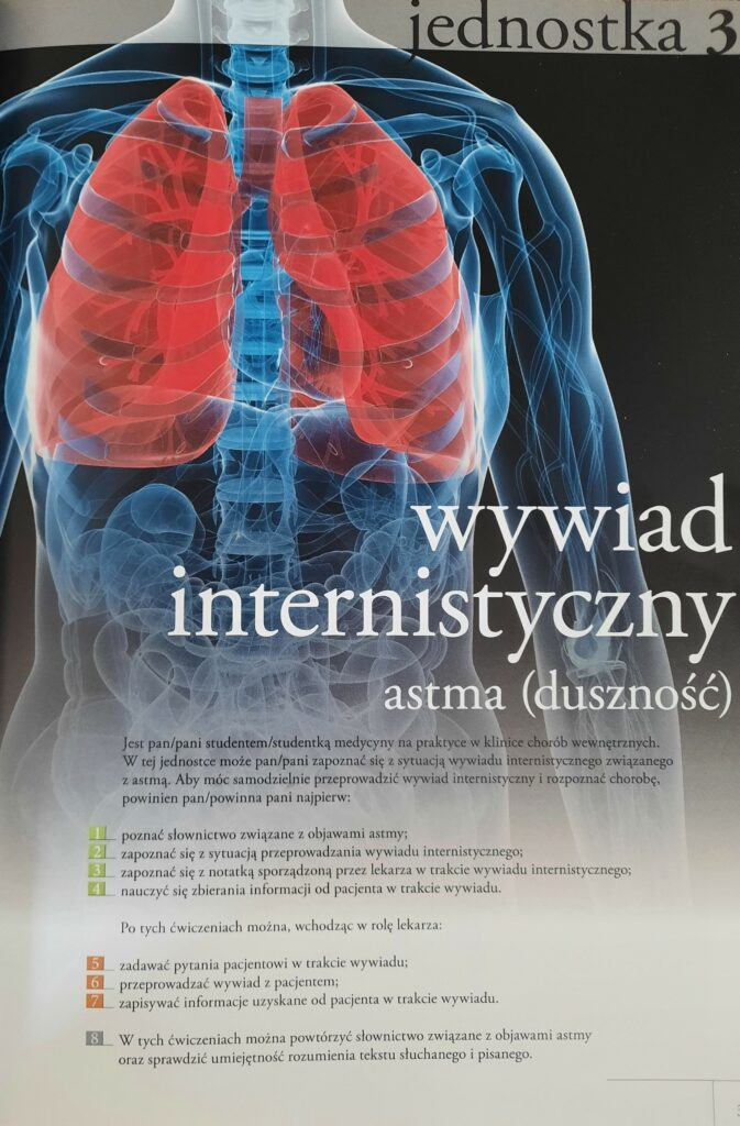 Co panu dolega - jednostka 3- wywiad internistyczny, astma