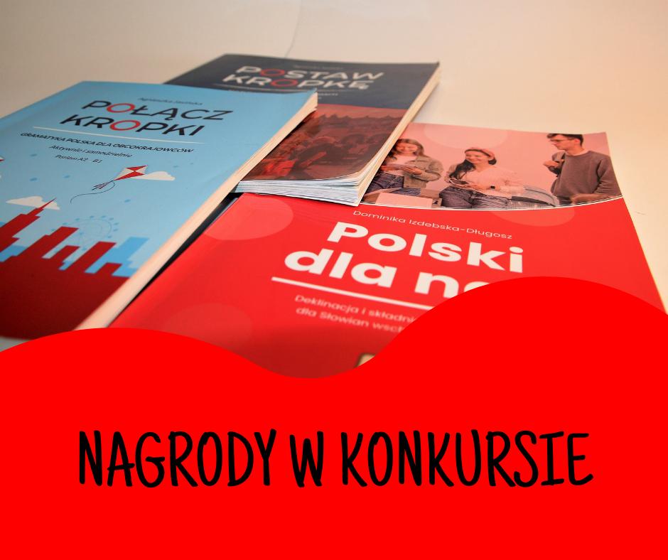 Blog Agnieszka Jasińska - Polski i kropka konkurs